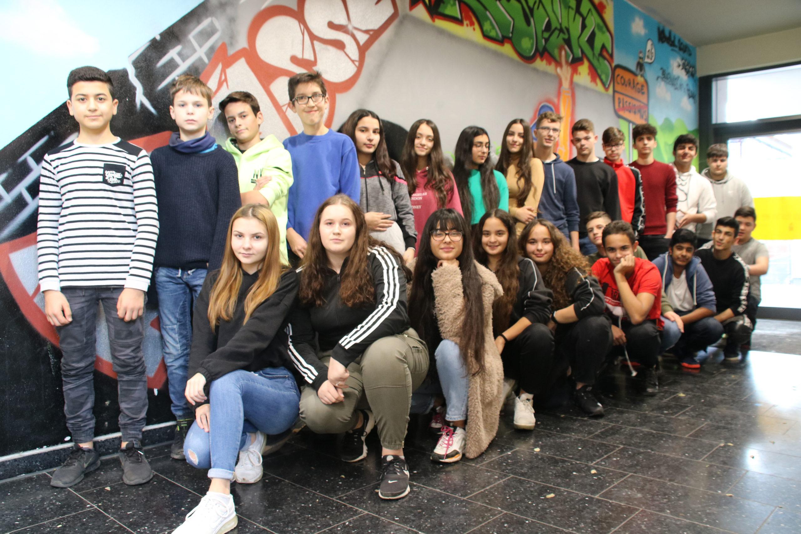 Klassenfoto 9a